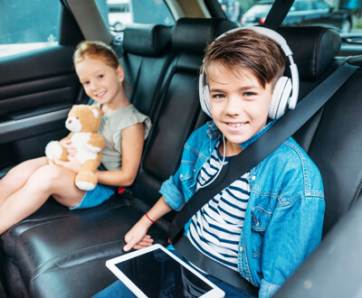 Stress-Free Travel in Your Rental Car with Kids